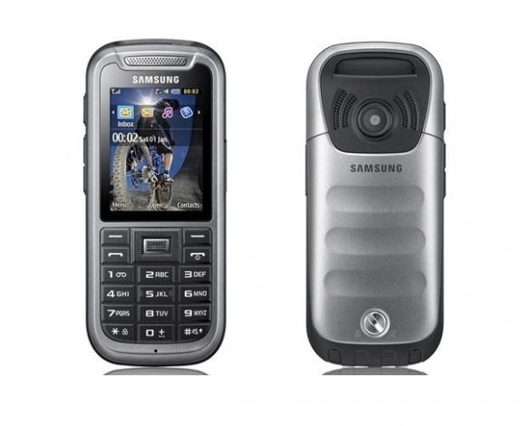 Klasický odolný telefon (s klávesnicí) Samsung