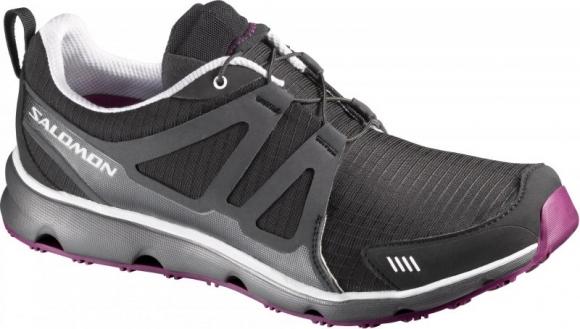 Boty Salomon S-Wind W Black/White/Very Purple 6,5 (výprodej)
