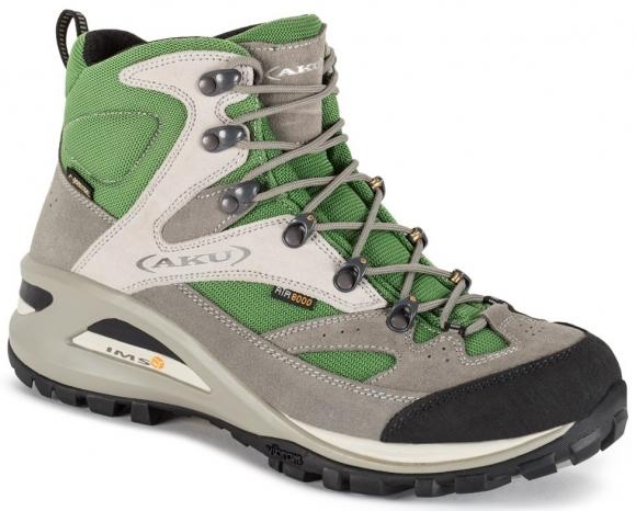 AKU boty Transalpina GTX (šedá/zelená)