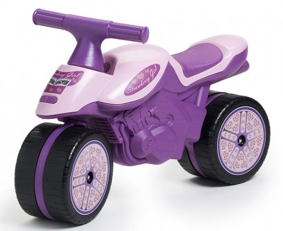 Akce - odrážedlo dětské - motorka Falk fialová