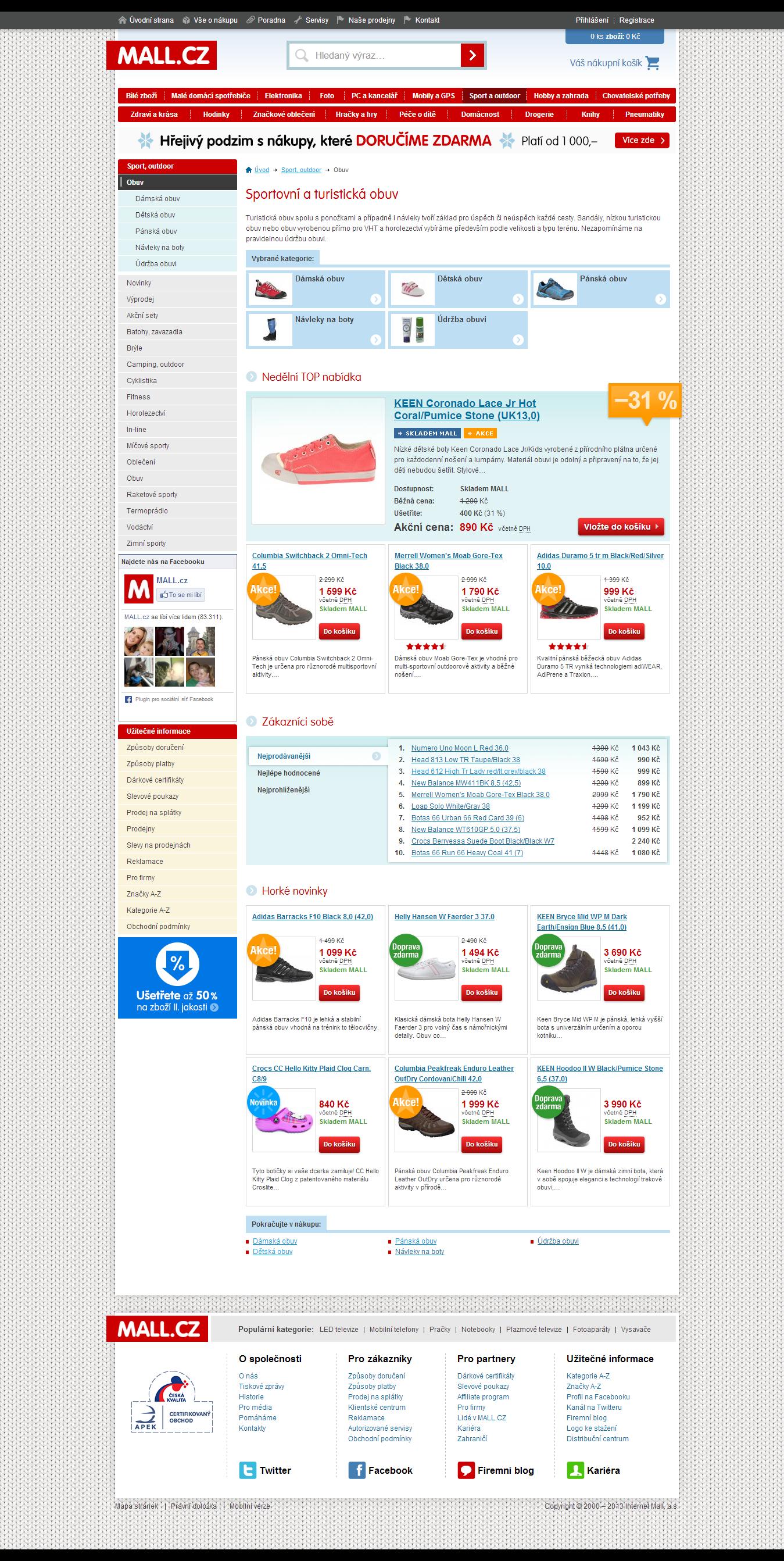 MALL.cz – výprodej zboží – boty dámské pánské dětské se slevou až 60 ... 9c11b9cd68f